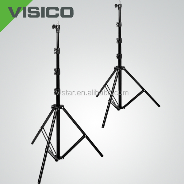 Professional Tripod Heavy Duty Aluminum Stage Flexible Led Light Base Stand
