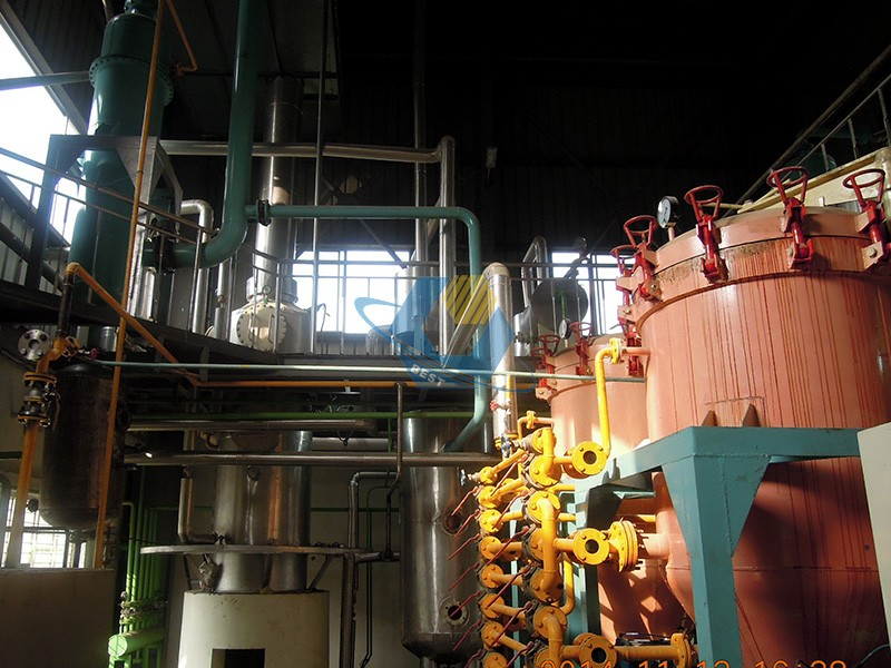 soybean oil dewaxing machinery
