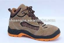 2016 the new design imported suede leather safety shoes