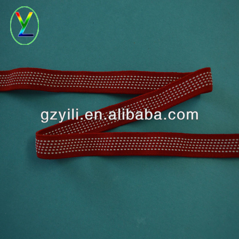 knitted non-slip elastic band