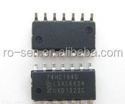 Electronic components shift register ic 74HC164