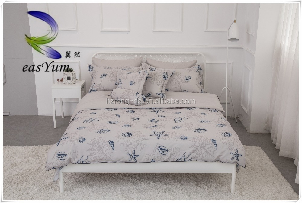 2017 New Design Single Bed Custom Wholesale Printed Bed Sheets