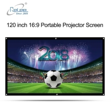 120 inch Simple Folded Projection Screen for projector Home theater