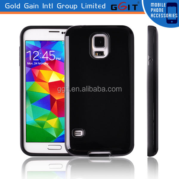 Guangzhou Wholesale TPU and PC Case For Galaxy S5 i9600