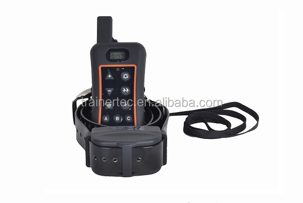 1200 meter rechargeable wireless remote control shock collar for 3 dogs