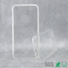 pc bumper & tpu phone back cover two color clear case for iphone 5s