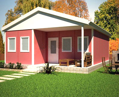 china low price prefabricated home