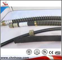 black air hydraulic hose hot selling train black rubber hose