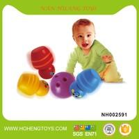 Infant toy plastic bowling ball set