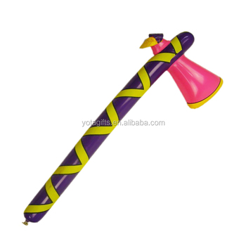Specific axe hatchet shape cheering stick