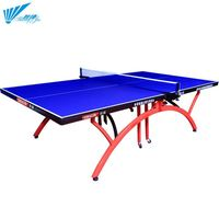 Outdoor waterproof foldable customize athlete cheap price tennis table retractable net