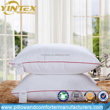 Premium Quality Siliconized Polyester Fiber Pillow 0.9D Microfiber Pillow