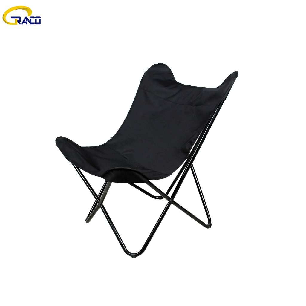 Hot sale patio outdoor cotton fabric butterfly chair