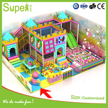Used Large Indoor Kids Play System Entertainment Playground Equipment For Sale