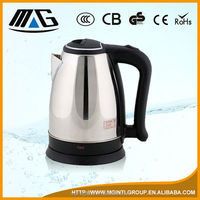 stainless steel electric water jug kettle for home heating