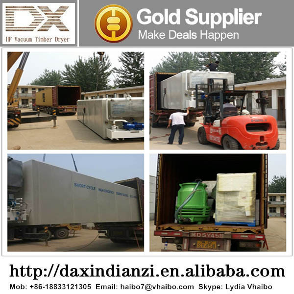 DX-4.0III-DX HF Wood Vacuum Dryer / Wood Dehumidifier