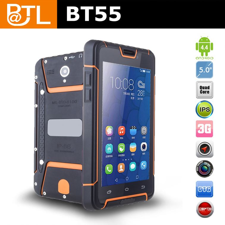 BATL BT55 quad core 3G discovery v5 shockproof rugged android 4.0 smart phone