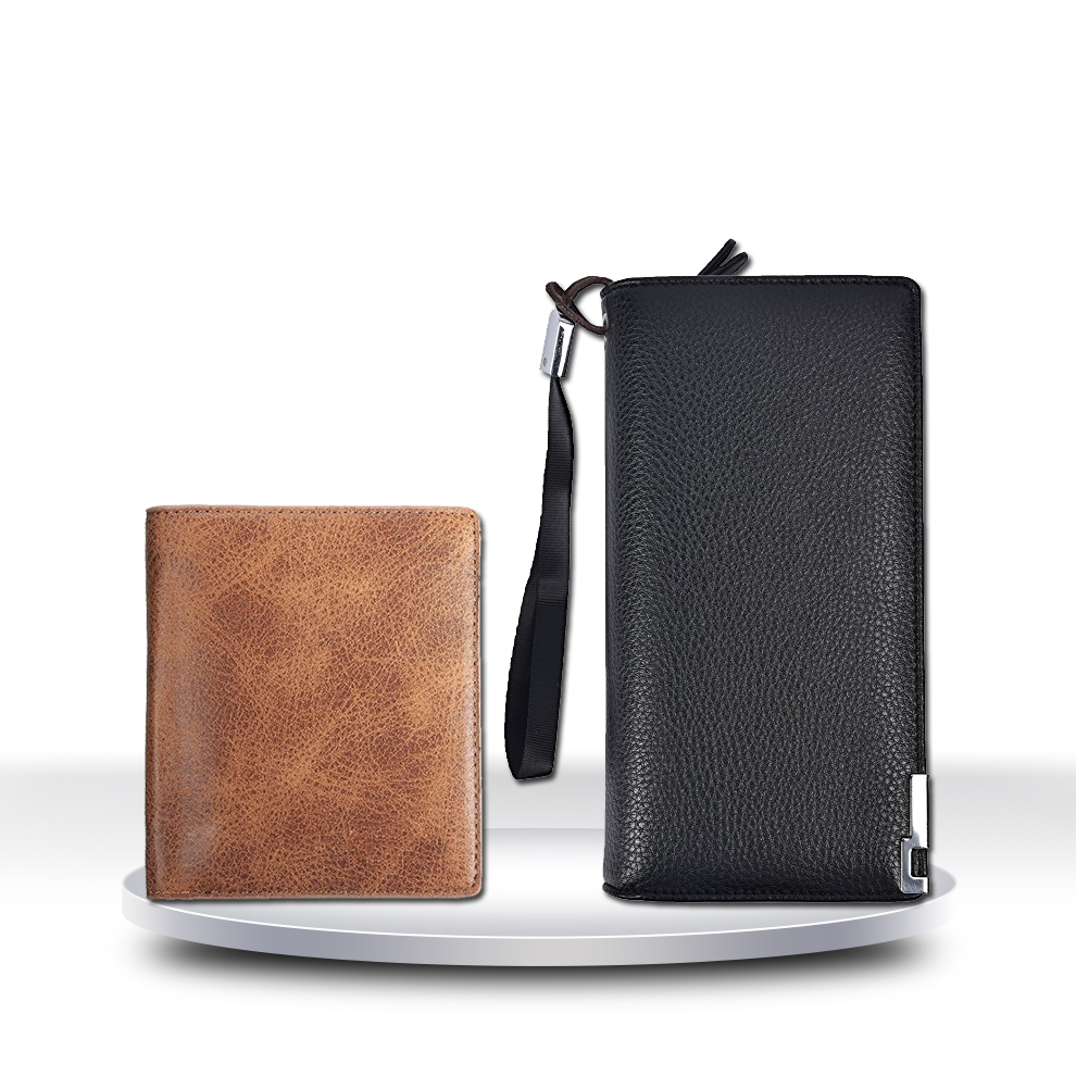 Xinya customized designer pu leather wallets for man