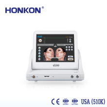 Ultrasonic HIFU wrinkle removal and skin rejuvenation for lifting face machine
