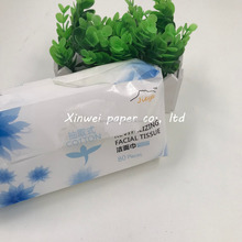 Convenient Face cleaning viscose facial tissue