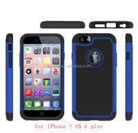 2016 Newest Case 3 in 1 PC + Silicone Hard Back Cover Case for iPhone 5 Phone Case