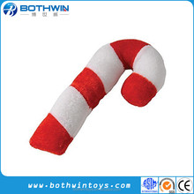 Classic Christmas Plush Candy Cane Toys
