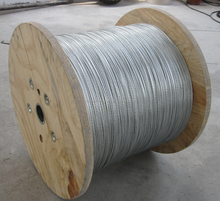 hot sale galvanized steel wire rope 10mm from factory