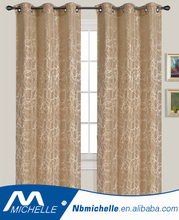 hot sales fancy design home chinese jacquard curtain