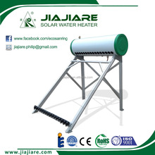 2016 160L new product compact pressured heat pipe solar water heater