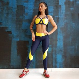 A3008 High Quality Sexy Women Sportswear Yoga Sets