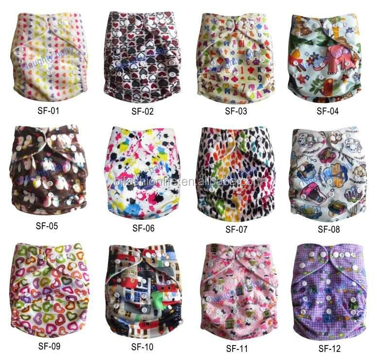 Naughtybaby 2016 Washable Baby Cloth Diaper fashion Best color Reusable Cloth Nappy Suit 0-2years