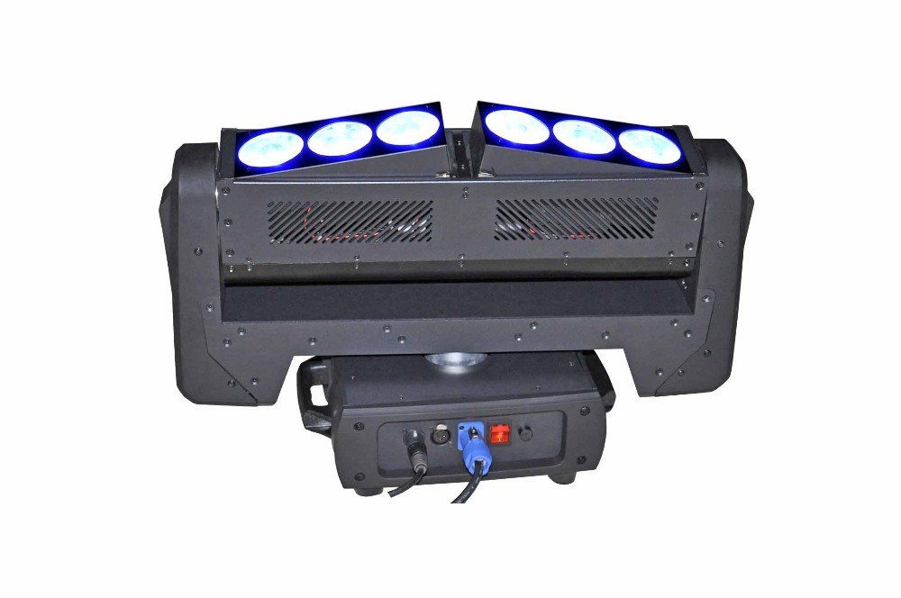 LED Stage Moving Head Light ML-Q4006-MATRIX 6*40W RGBW 4in1