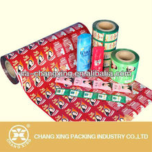 High quality products multilayer plastic flexible packaging roll film sachet packaging film for shampoo