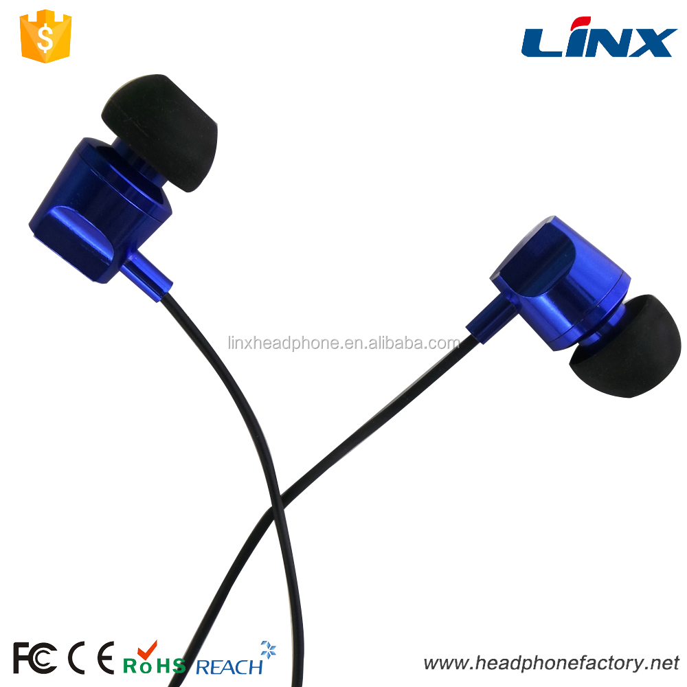 made in china wired stereo headphone sport earbuds for mp3 LX-E128