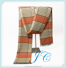 Hot selling Scottish Cashmere Scarf Tassel Wholesale Men's Scarf