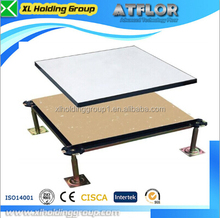 data center HPL 610mm cementitious infill steel raised floor with hpl finish title antistatic 1.2mm