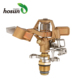 Pendent watering brass wobbler nozzle rotating impact garden agricultural movable sprinkler irrigation system