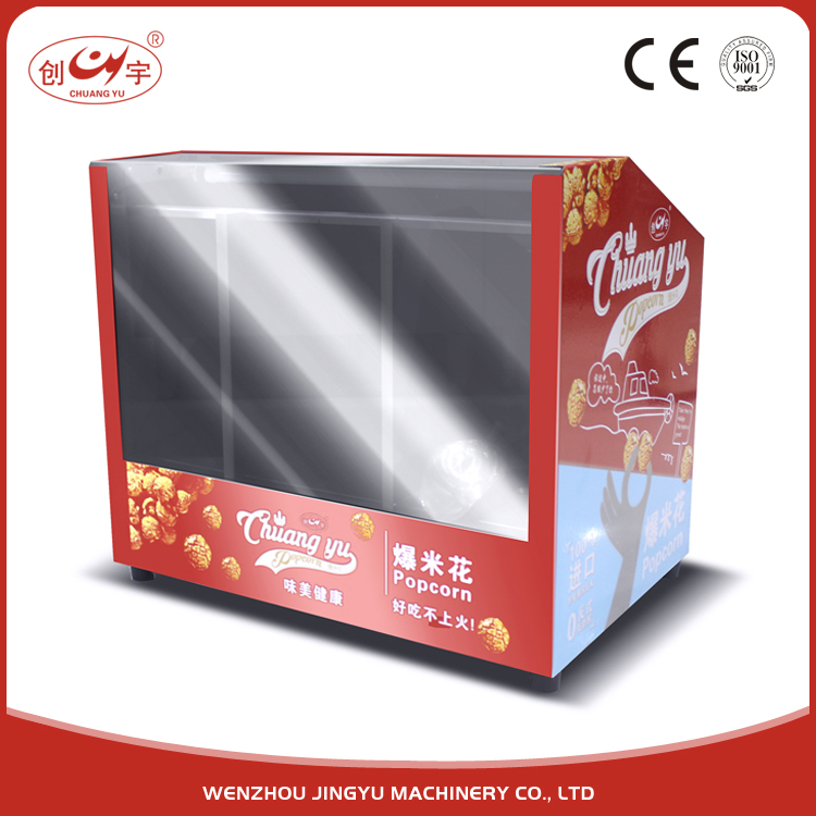 Chuangyu China Factory Direct Sale 0.17CBM Mini Pie Warmer For Food Display Showcase