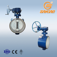 Triple Double Eccentric Offset Butterfly Valve