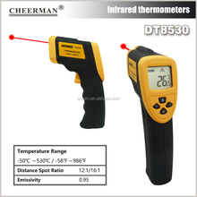 Digital gun type DT8530 -50-530 Degree CE approved IR Infrared thermometer