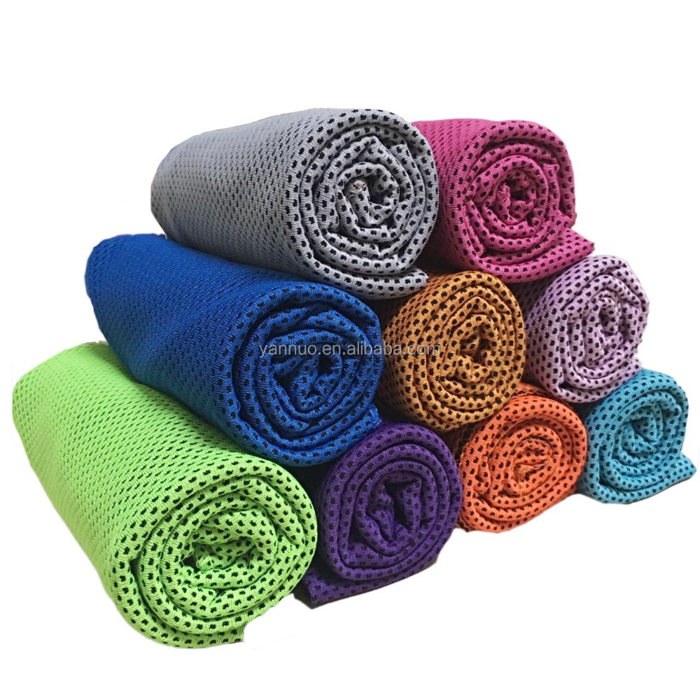 Outdoor Fitness Miracle Microfiber Fabric Sports Towel, Ice Cool Towel