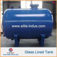 high pressure reactor glass lined tank (horizontal type)