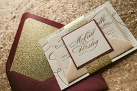 trade fair glitter invitation 2015