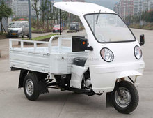 with 2 lights ABS Cabin 1.6 Meter Length Carriage China 150cc Motorized Truck Cargo Tricycle on Sale