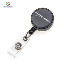 Retractable Zinc Alloy Badge Reels Custom