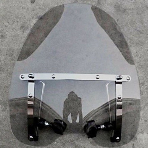 "18""x16"" China factory motorcycle Windshield Windscreen for wholesale"