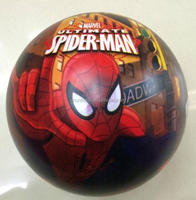 Spiderman Pattern PVC Ball, Cartoon pattern printing inflatable beach Ball