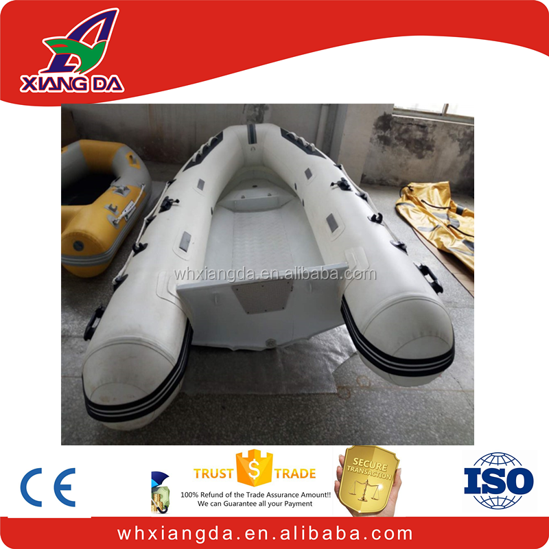 0.9 or 1.2mm inflatable boat wtih aluminum floor for sale