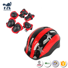 HFX0270 breathable and durable PVC material Helmet Kid's Knee Pads protective Gear
