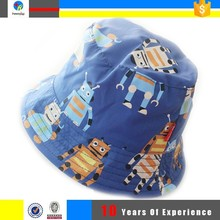 custom printed kids plain bucket hats